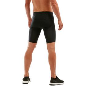 2XU Run Dash Compression Shorts Men black/denim reflective